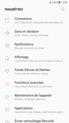 Samsung Galaxy S6 - Android Nougat - Wifi - configuration manuelle - Étape 3