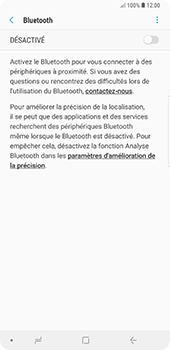 Samsung Galaxy Note9 - Bluetooth - connexion Bluetooth - Étape 9