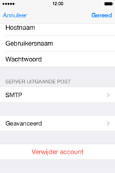 Apple iPhone 4S iOS 7 - E-mail - handmatig instellen - Stap 20