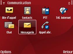 Nokia E63 - SMS - Configuration manuelle - Étape 4