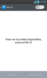 LG Optimus L5 II - WiFi - Conectarse a una red WiFi - Paso 5
