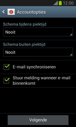 Samsung Galaxy Core (I8260) - E-mail - Account instellen (POP3 met SMTP-verificatie) - Stap 18