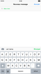 Apple iPhone 6 Plus iOS 8 - Contact, Appels, SMS/MMS - Envoyer un SMS - Étape 8