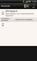 HTC T328e Desire X - Bluetooth - Koppelen met ander apparaat - Stap 7