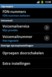 Samsung S5830i Galaxy Ace i - Voicemail - handmatig instellen - Stap 6