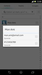 Sony Xpéria Z - Contact, Appels, SMS/MMS - Envoyer un SMS - Étape 7