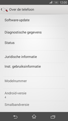 Sony E2003 Xperia E4 G - Netwerk - Software updates installeren - Stap 6