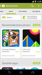 Sony Xperia Z1 - Aplicaciones - Descargar aplicaciones - Paso 5