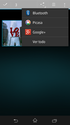 Sony Xperia Z - Bluetooth - Transferir archivos a través de Bluetooth - Paso 8
