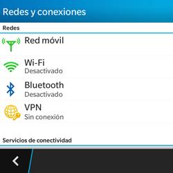 BlackBerry Q5 - Bluetooth - Conectar dispositivos a través de Bluetooth - Paso 5