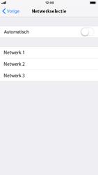 Apple iPhone 6 - iOS 12 - Netwerk - Handmatig een netwerk selecteren - Stap 6