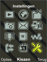 Sony Ericsson W995 - MMS - handmatig instellen - Stap 3