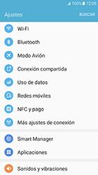 Samsung Galaxy J5 (2016) - Funciones básicas - Activar o desactivar el modo avión - Paso 4