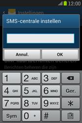 Samsung S6310 Galaxy Young - SMS - Handmatig instellen - Stap 7