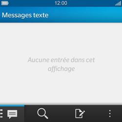 BlackBerry Q5 - SMS - configuration manuelle - Étape 3