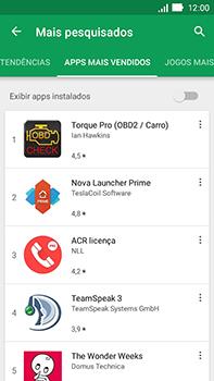 Asus Zenfone Go - Aplicativos - Como baixar aplicativos - Etapa 9