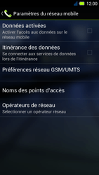 Acer Liquid E3 - Internet - Activer ou désactiver - Étape 7