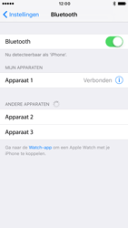 Apple iPhone 6 iOS 10 - Bluetooth - Koppelen met ander apparaat - Stap 6