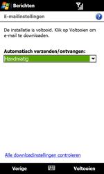 HTC T5353 Touch Diamond II - E-mail - Handmatig instellen - Stap 15