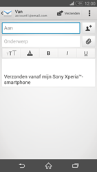 Sony D5803 Xperia Z3 Compact - E-mail - e-mail versturen - Stap 4