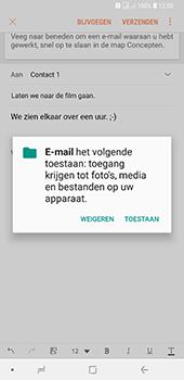 Samsung Galaxy A9 - E-mail - hoe te versturen - Stap 12