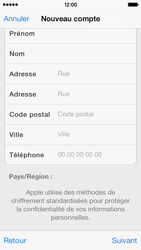Apple iPhone 5s - Applications - Créer un compte - Étape 21