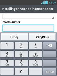 LG E430 Optimus L3 II - E-mail - Handmatig instellen - Stap 13