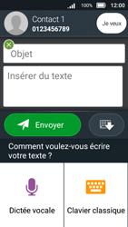 Doro 8031 - Contact, Appels, SMS/MMS - Envoyer un MMS - Étape 10