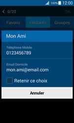 Samsung Galaxy Ace 4 - Contact, Appels, SMS/MMS - Envoyer un SMS - Étape 7