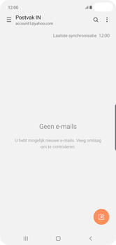 Samsung Galaxy S10 Plus - E-mail - handmatig instellen (yahoo) - Stap 10