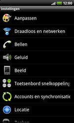 HTC A7272 Desire Z - Instellingen - Instellingen wizard - Stap 4