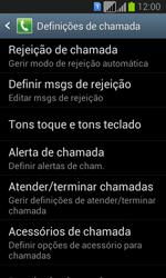 Samsung Galaxy Fresh Duos - Chamadas - Como bloquear chamadas de um número -  6