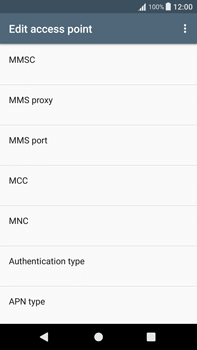 Sony Xperia XA1 Plus - Internet - Manual configuration - Step 13