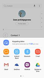Samsung Galaxy A5 (2017) - Android Nougat - Contactgegevens overzetten - delen via Bluetooth - Stap 9