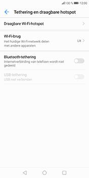 Huawei P Smart (Model FIG-LX1) - WiFi - Mobiele hotspot instellen - Stap 6