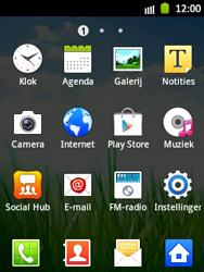 Samsung S5300 Galaxy Pocket - Voicemail - handmatig instellen - Stap 3