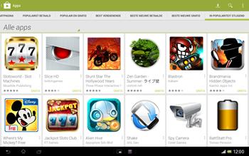 Sony SGP321 Xperia Tablet Z LTE - Applicaties - Downloaden - Stap 12