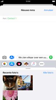Apple iPhone 7 Plus - iOS 13 - MMS - afbeeldingen verzenden - Stap 10