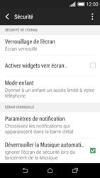 HTC Desire 510 - Sécuriser votre mobile - Activer le code de verrouillage - Étape 5