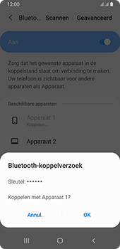 Samsung galaxy-a8-2018-sm-a530f-android-pie - Bluetooth - Headset, carkit verbinding - Stap 8