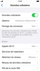 Apple iPhone SE - iOS 13 - Internet - activer ou désactiver - Étape 4
