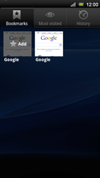 Sony Xperia Neo V - Internet - Internet browsing - Step 8