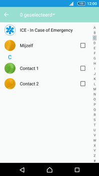 Sony E6853 Xperia Z5 Premium - Contactgegevens overzetten - delen via Bluetooth - Stap 6