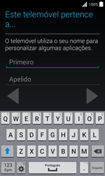 Samsung Galaxy Trend 2 Lite - Primeiros passos - Como ligar o telemóvel pela primeira vez -  11
