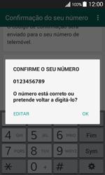 Samsung Galaxy Ace 4 - Aplicações - Como configurar o WhatsApp -  7