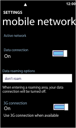 Nokia Lumia 800 - Internet - Manual configuration - Step 5