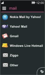 Nokia Asha 311 - E-mail - Manual configuration - Step 6