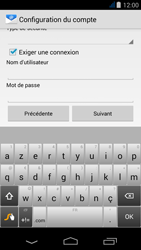 Acer Liquid Jade Z - E-mail - Configuration manuelle - Étape 14
