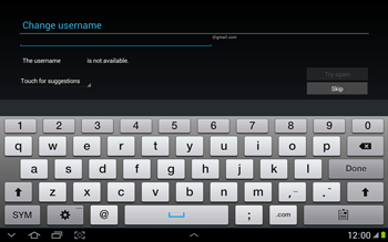 Samsung N8000 Galaxy Note 10-1 - Applications - Downloading applications - Step 7