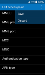 Samsung G355 Galaxy Core 2 - MMS - Manual configuration - Step 15